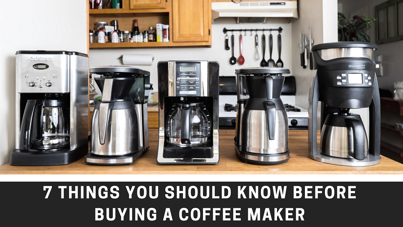 7 Things you should know before buying a coffee maker