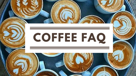 FAQ about Coffee