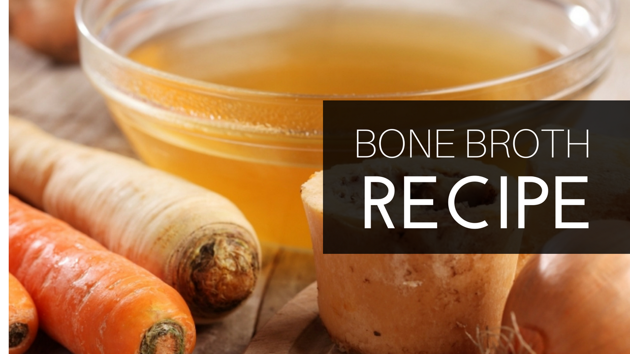 recipe of bone broth