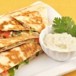 How to make chicken quesadilla in toaster oven