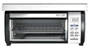 toaster oven under cabinet