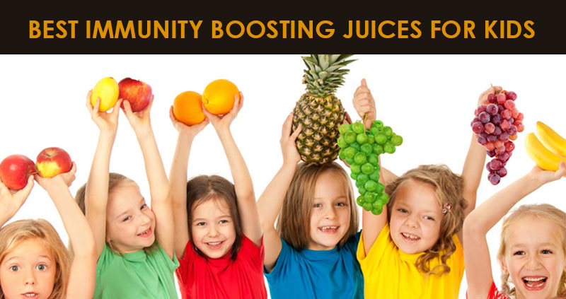 Best immutiy boosting juices for kids