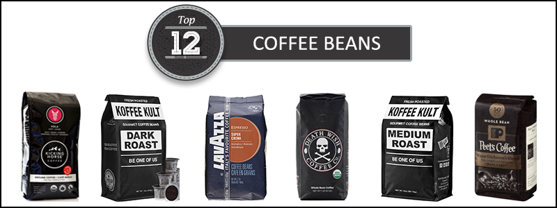 Top 12 coffee beans Set