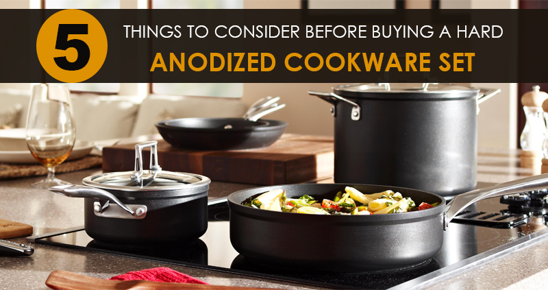 buying a hard anodized cookware set