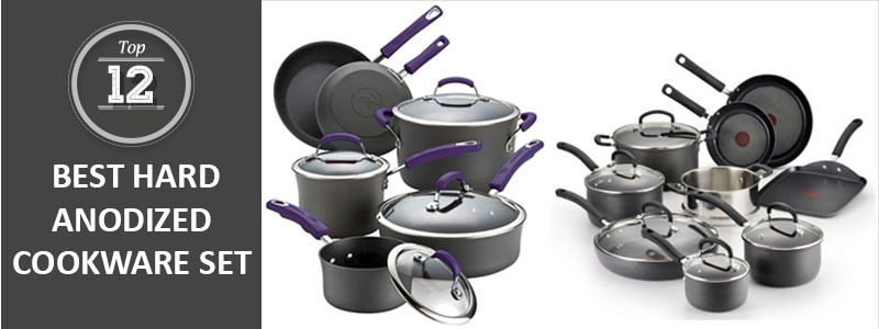 Top 12 Best Hard Anodized Cookware Set