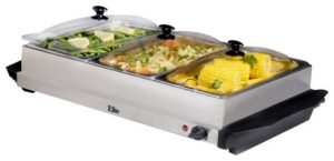Elite Platinum Triple Food Server Warmer
