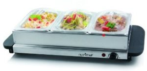 NutriChef 3 Buffet Warmer Server