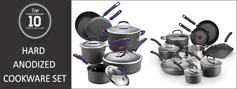 Top 10 Best Hard Anodized Cookware Set