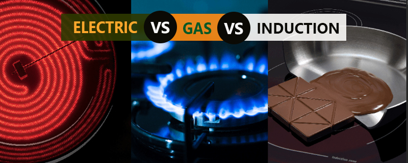 Induction cooktops vs. electric vs. gas