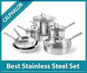 Calphalon Best Stainless Steel Cookware Set