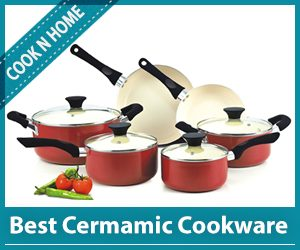 Cook N Home Best Ceramic Cookware Set