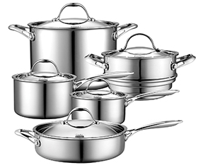 best stainless steel cookware without aluminium