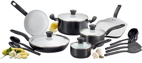 T-fal C921SG Ceramic Coating 16-Piece Set
