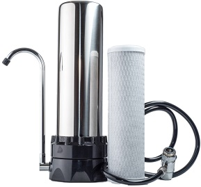 The Stainless Steel Countertop Water Filter System