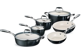 Tramontina 525DS 10-Piece Cookware Set
