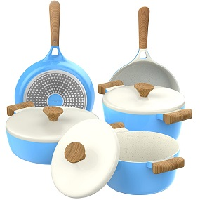 Vremi Ceramic Non-Stick 8-Piece