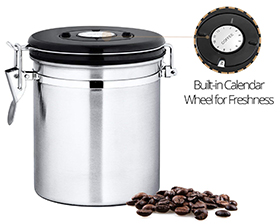 best ground coffee storage container