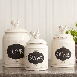attractive coffee container storage