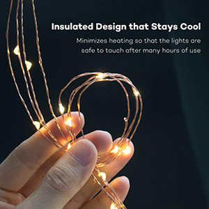 best outdoor led solar string lights