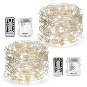 best outdoor solar string lights
