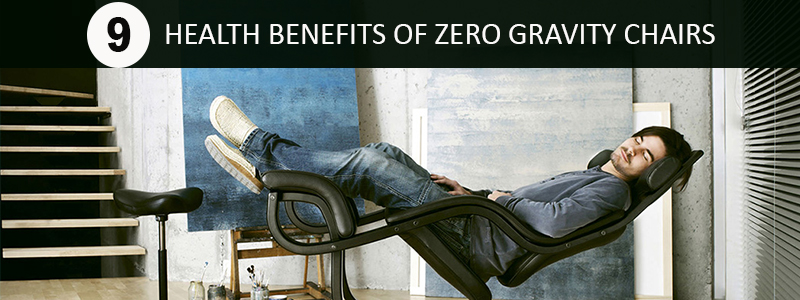 health benefits of zero gravity chairs
