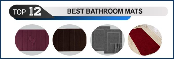 Top 12 Best Bathroom Mats