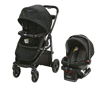 rear facing stroller
