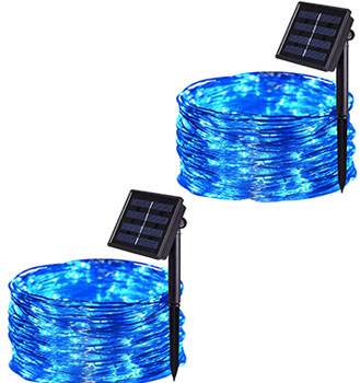 JMEXSUSS Solar String Lights Outdoor Waterproof
