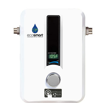 EcoSmart Electric Tankless Water Heater, 13KW at 240 Volts with Patented Self Modulating Technology