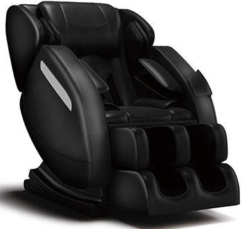 FOELRO Full Body Massage Chair,Zero Gravity Shiatsu Recliner with Air Bags