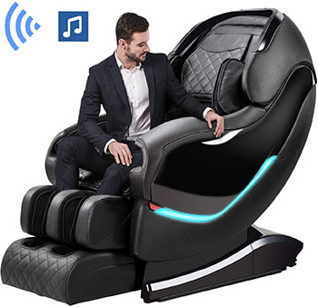 Massage Chair by OOTORI,3D SL-Track Thai Yoga Stretching Zero Gravity Massage Chair
