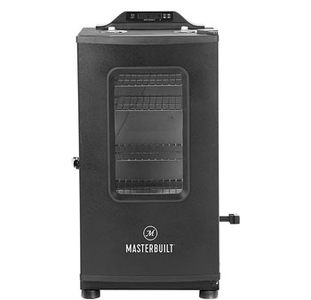 Masterbuilt Bluetooth Digital Electric Smoker with Broiler Black