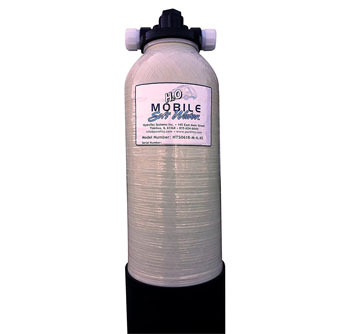 Portable 'Mobile-Soft-Water' Water Softener