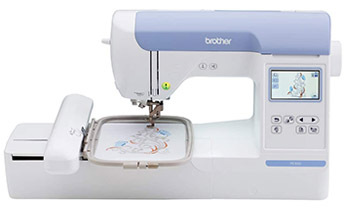 Brother PE800 Embroidery Machine, 138 Built-in Designs