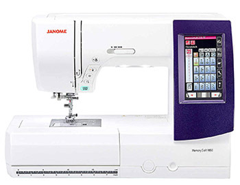 Janome Horizon Memory Craft 9850 Embroidery and Sewing Machine
