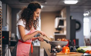 Cooking improves mental health