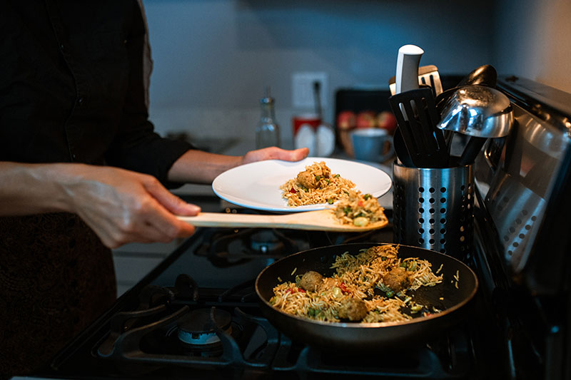 Cooking for mental health